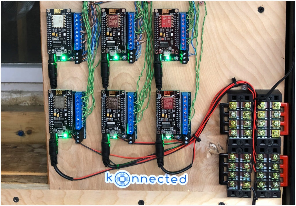 Konnected Alarm Panel Wired Alarm System Conversion Kit