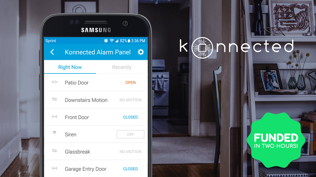 Konnected Alarm Panel revive your wired alarm system