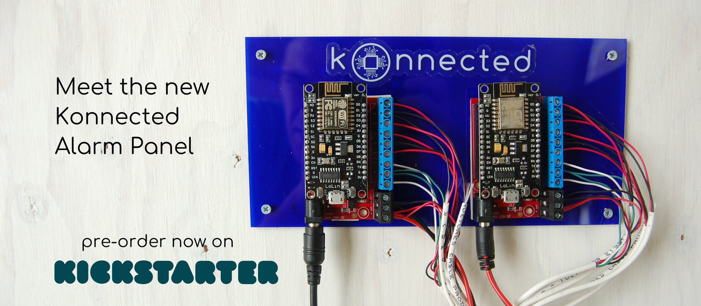 Meet the new Konnected Alarm Panel - now on Kickstarter!