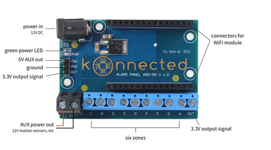 [1st Generation] Konnected Alarm Panel Add-on Board