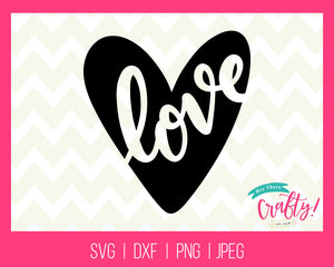Love | Digital File - The Chaotically Creative Mom