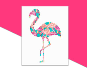 Flamingo Decal - The Chaotically Creative Mom