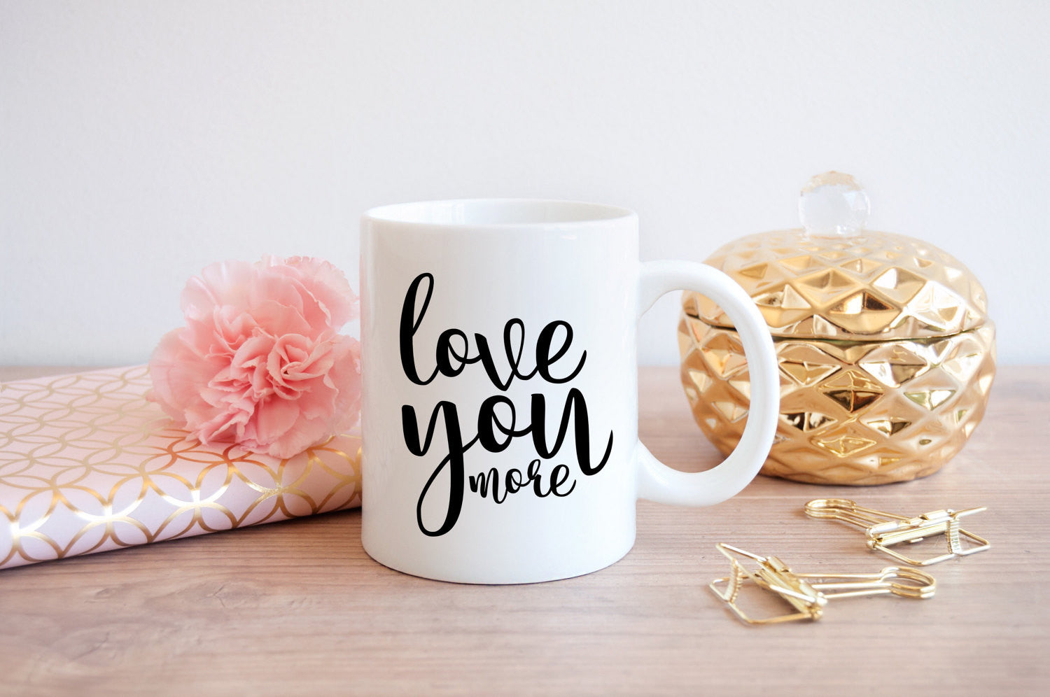 Love You More Cut File - The Chaotically Creative Mom