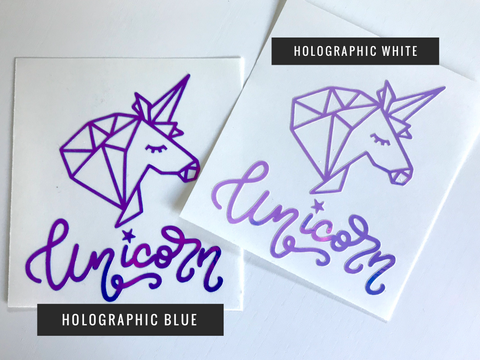 Unicorn Decal - The Chaotically Creative Mom