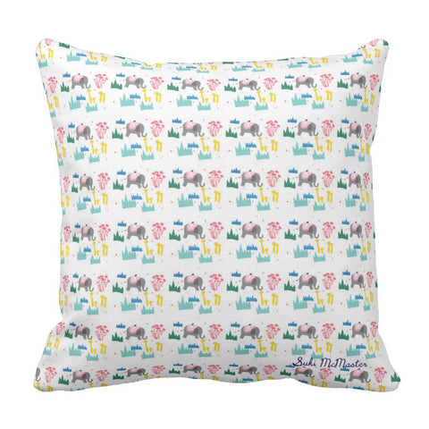 Floor Cushion Cover - Elephant