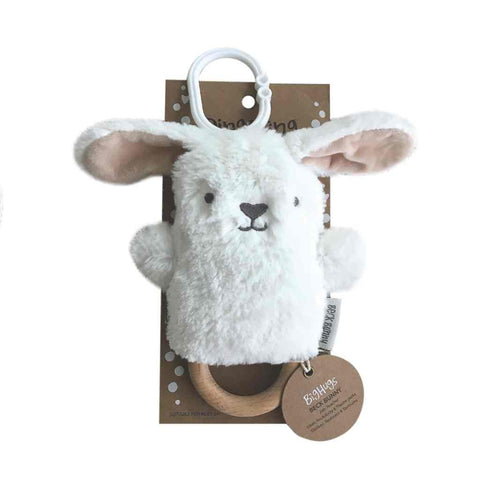 Baby Toy -  Beck Bunny (White) Dingaring