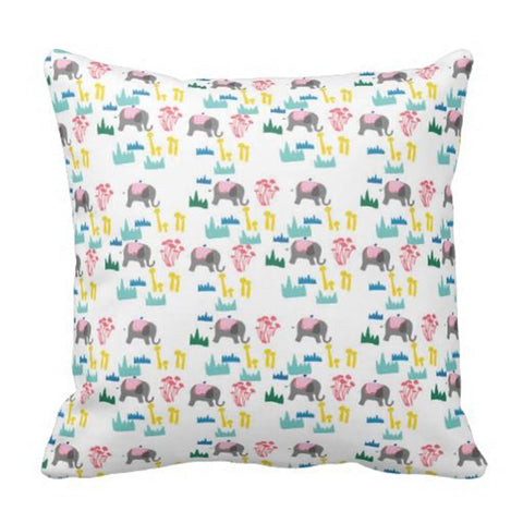 Cushion cover - Elephants