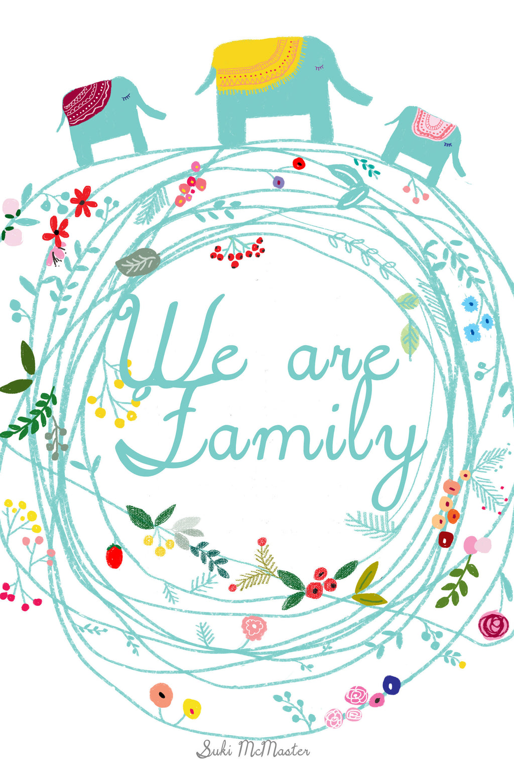 Wall Print - We're Family