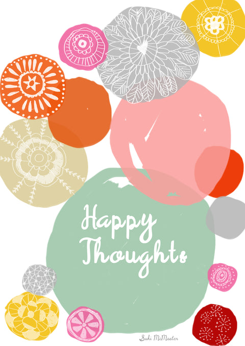 Wall Print - Happy Thought