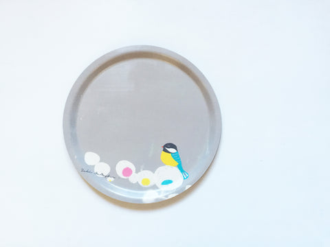 Round Birchwood Tray - Bird (ONLINE EXCUSIVE SALE)