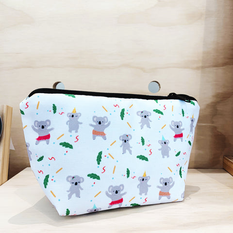 Zipper Pouch - Dancing Koala