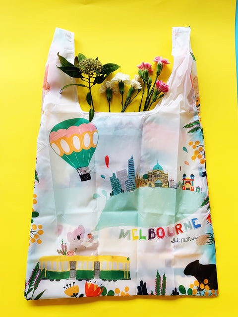Reusable Shopping Bag - Melbourne