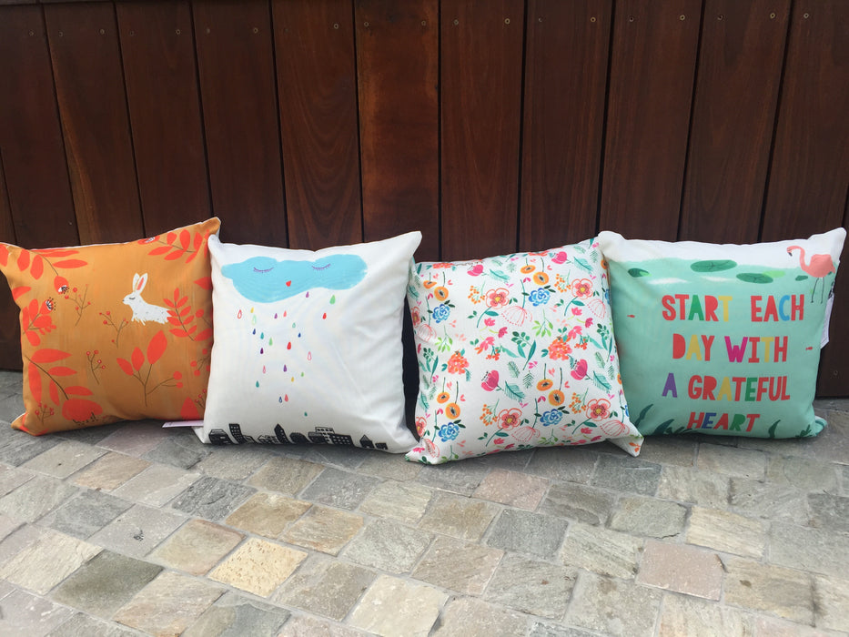 Cushion cover - Rain and Cloud (ONLINE EXCUSIVE SALE)