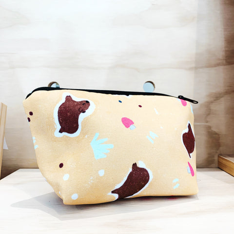 Zipper Pouch - Dancing Wombat