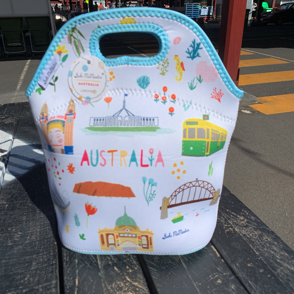 Australia Lunch Tote - Suki McMaster x Gibson Gifts Collaboration