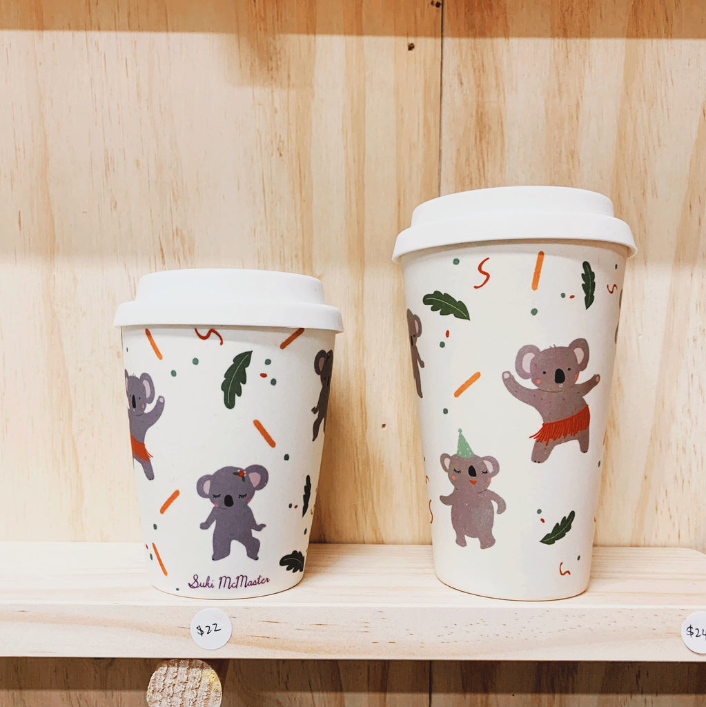 Bamboo Reusable Cup - Koala (Small)