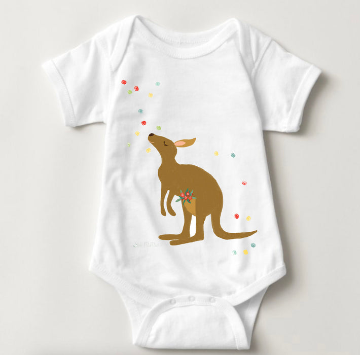 Limited Edition Kangaroo Personalised Onesie