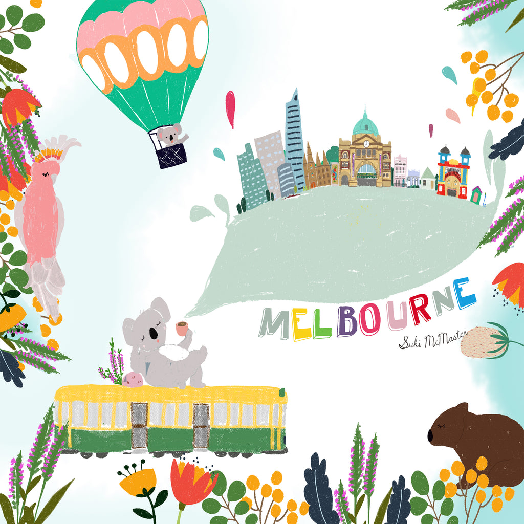 Limited Edition Print - Melbourne Icon