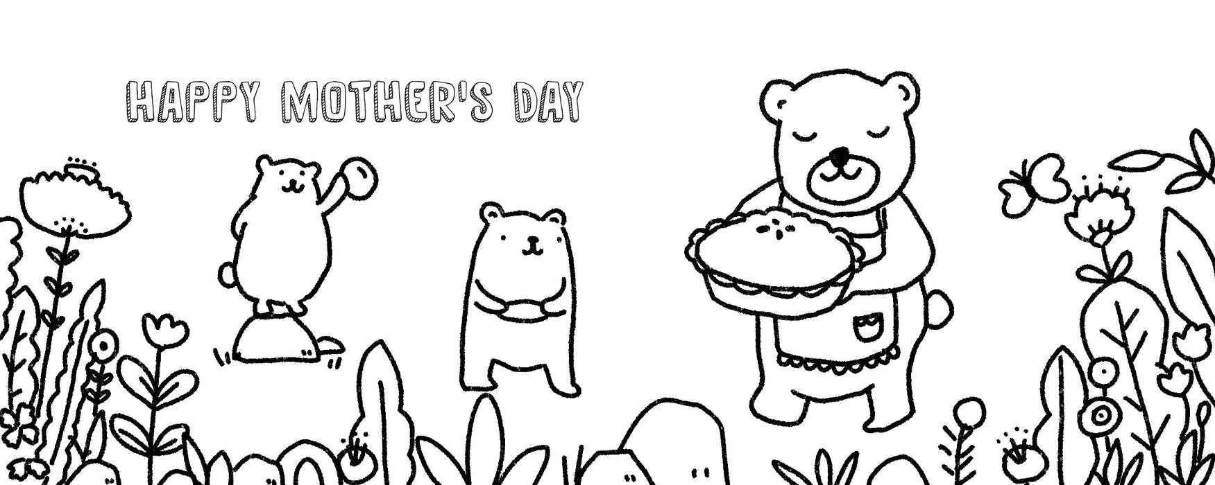 Mother's Day Colouring  - Free Printable
