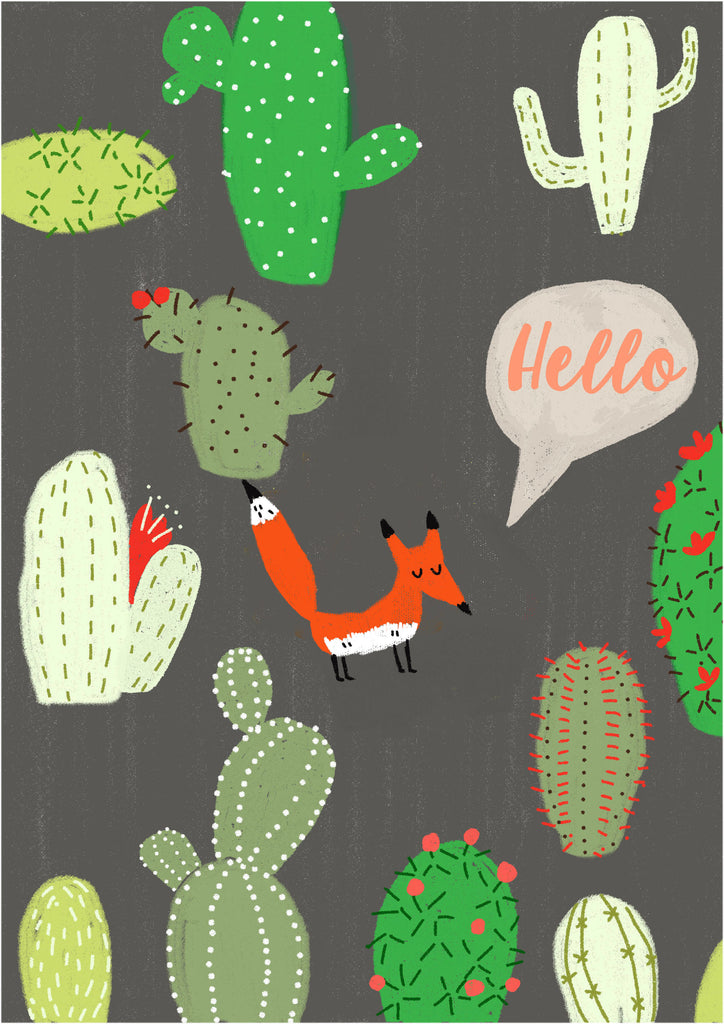Wall Print - Hello Fox