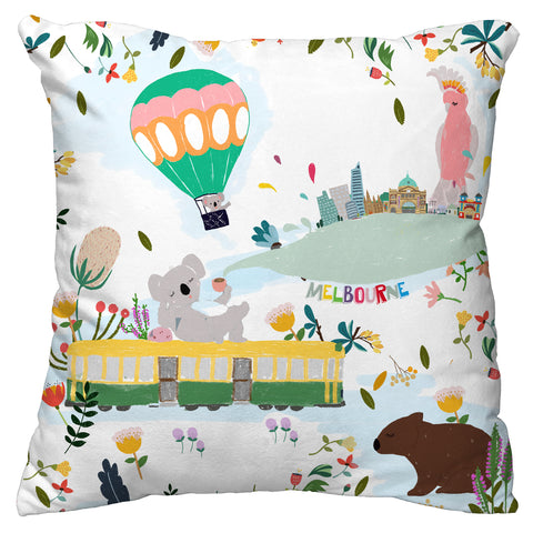 NEW Cushion Cover -  Melbourne Icon