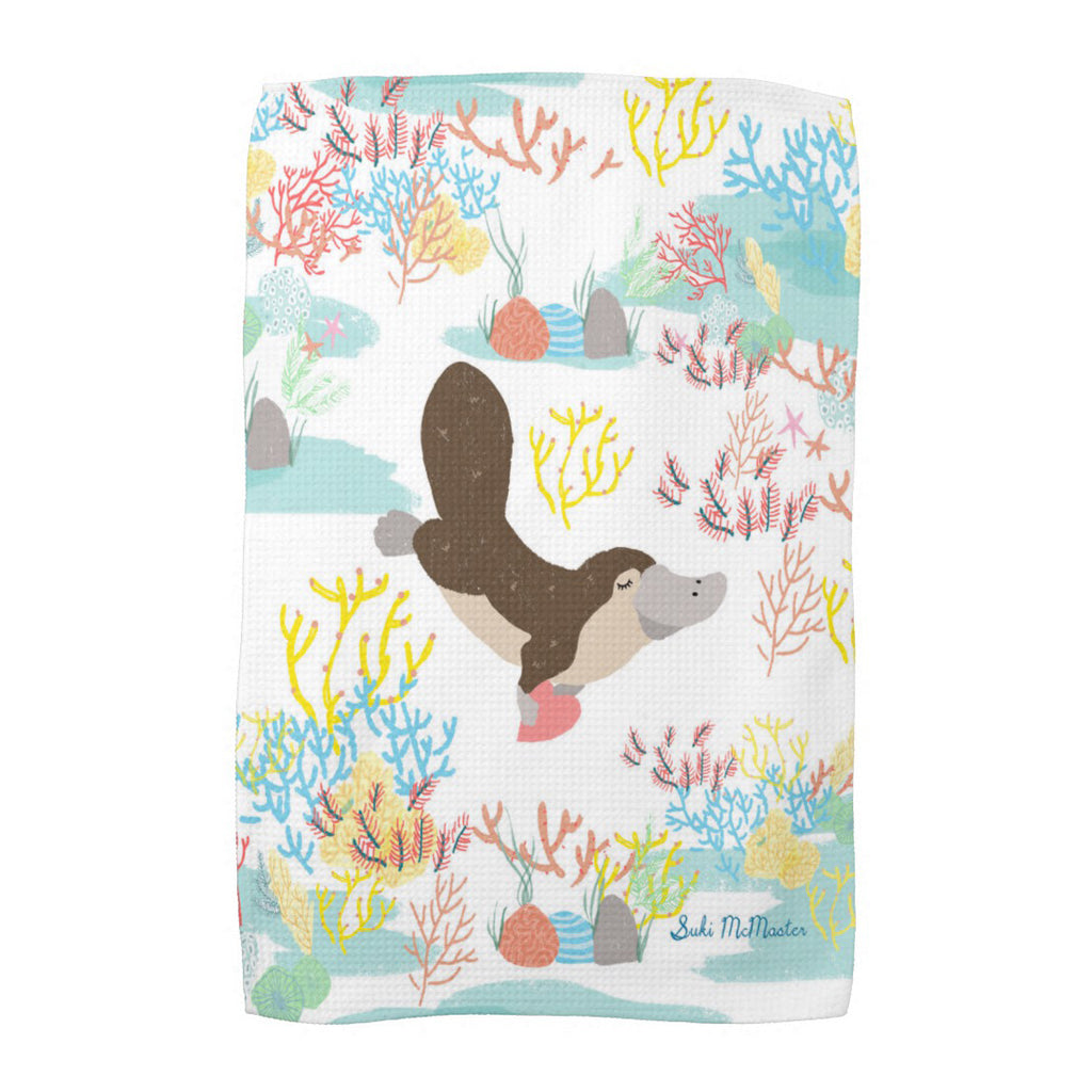 Tea Towel - Platypus