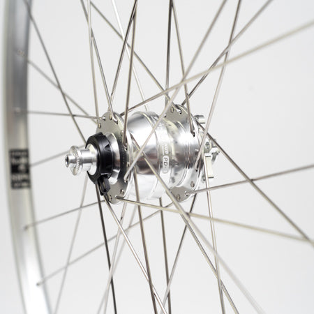 GORILLA SPUN Build Wheel 700c SP Dynamo x Velocity Nobs (Front Only)