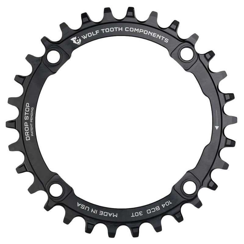 WOLF TOOTH Dropstop Chainring 104BCD 4arm