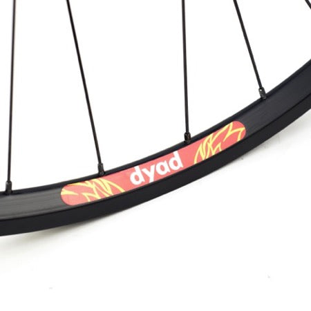 GORILLA SPUN Build Wheel Velocity ATB Disc SS x Velocity Dyad (F&R Set)