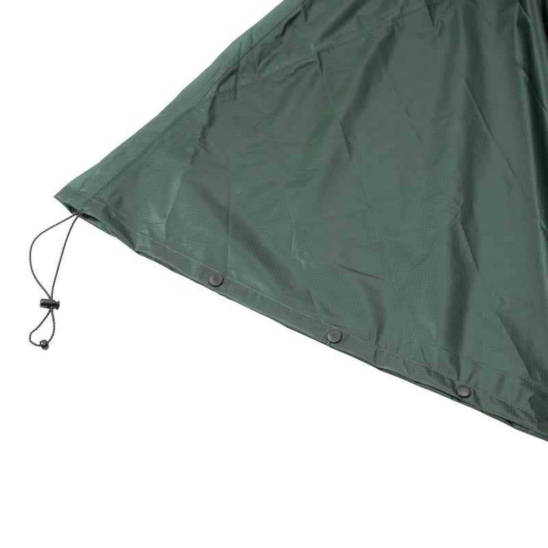 FAIRWEATHER Packable Rain Poncho