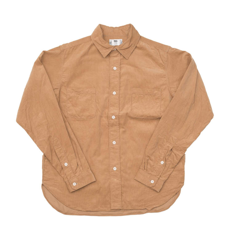 RAL MEETS HOLK Corduroy Player Shirt