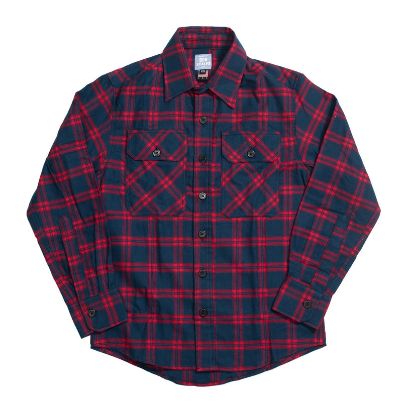 PRODUCT OF BOB SCALES Flannel Work Shirt