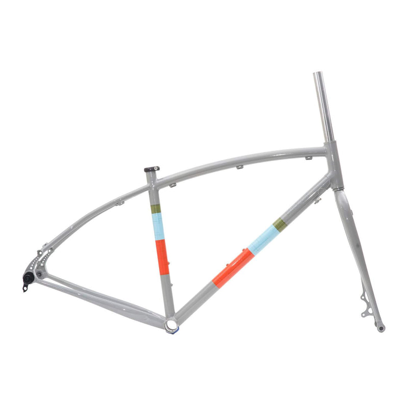 BLACKCAT BICYCLES Curved Top CX & All Road Frame Set