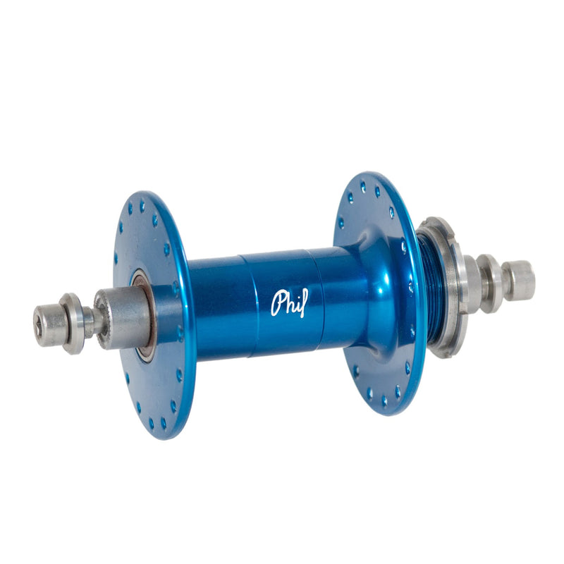 PHIL WOOD High Flange Rear Track Hub