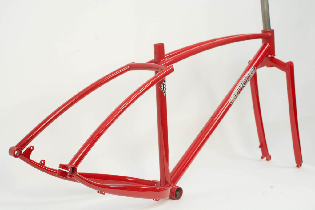RETROTEC Bloody Red Twin-Top Fat Bike