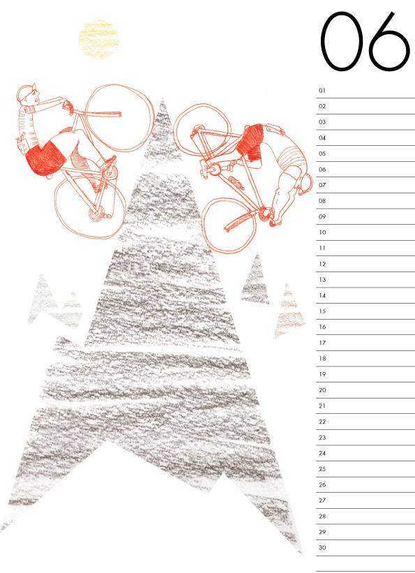 ADAM'S Bicycle Calendar