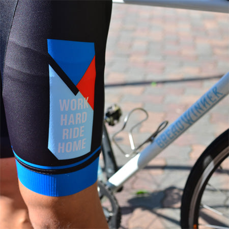 BREAD WINNER CYCLES  Work Hard Ride Home Team Bib Short