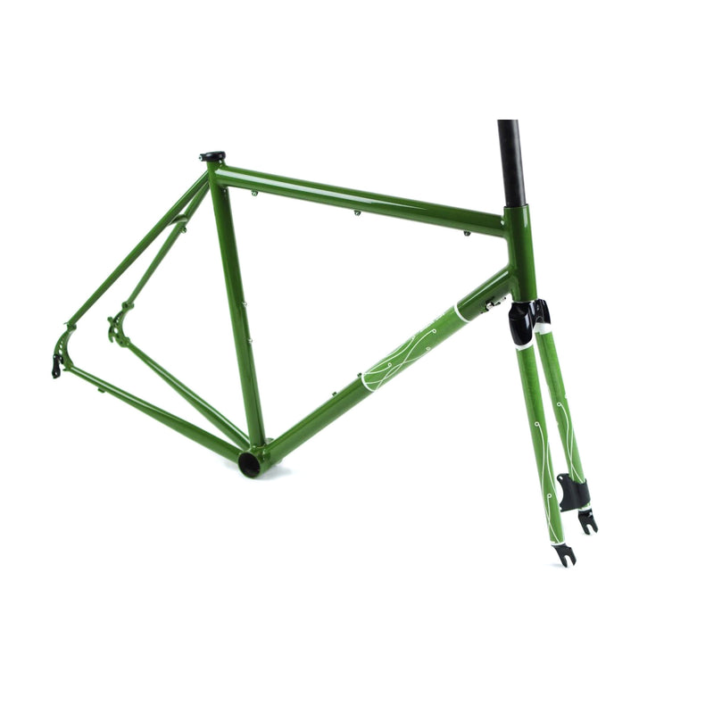 BLACKCAT BICYCLES Pass Master Disc Road / Science Olive 53