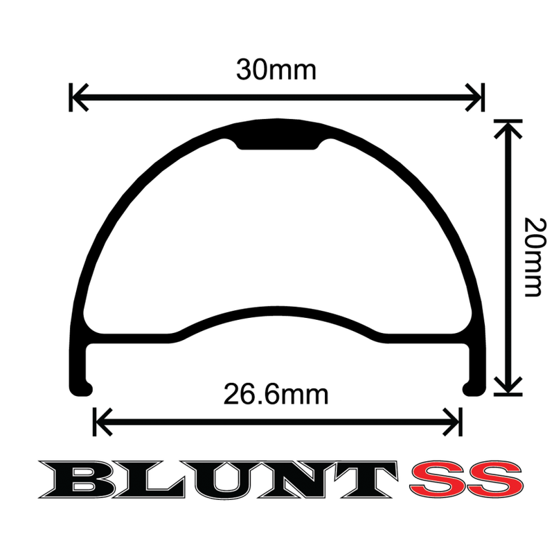 GORILLA SPUN Order Made Wheel for VELOCITY Blunt SS