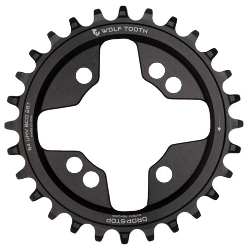 WOLF TOOTH Drop Stop Chainring 64PCD