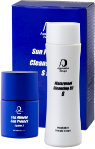 AGGRESSIVE DESIGN Sun Protect & Cleansing Oil S set