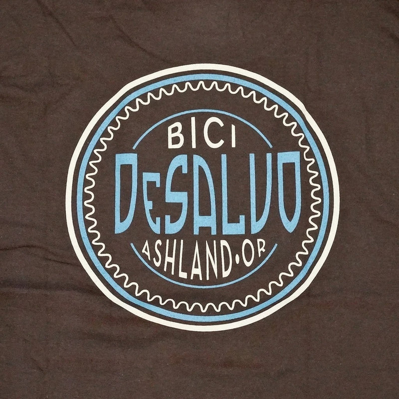 DESALVO CUSTOM CYCLES Logo T shirts Brown