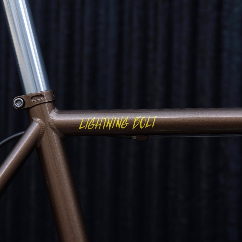 CRUST BIKES Canti Brake Lightning Bolt Frame Set