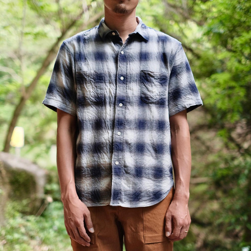 RAL Player Short Sleeve Shirt Ombre Check