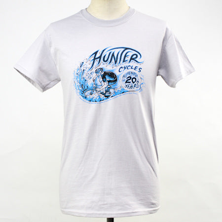 HUNTER CYCLES 20 Years Anniversary T Shirt