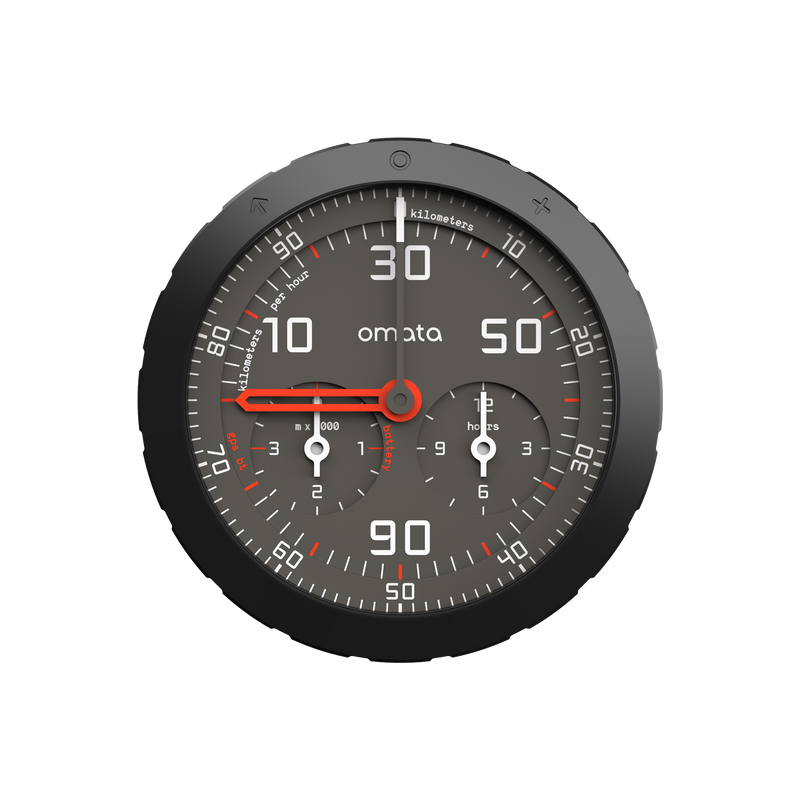OMATA One GPS Bike Speedometer KPH