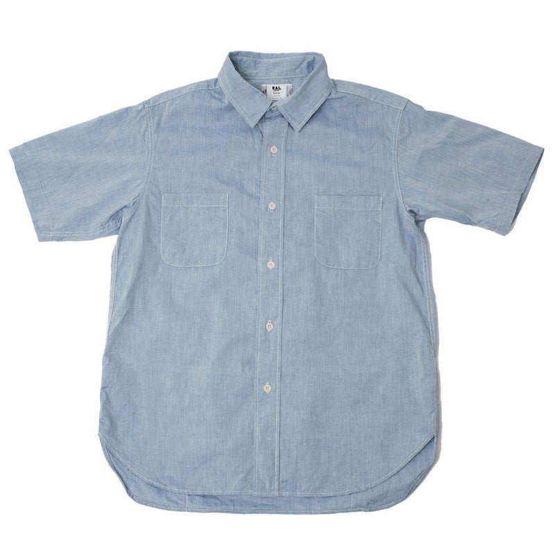 RAL Player Short Sleeve Shirt Chambray