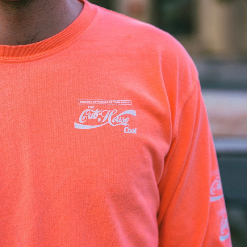 TEAM DREAM BICYCLING TEAM Cub House Cool Cola Heavyweight Long Sleeve