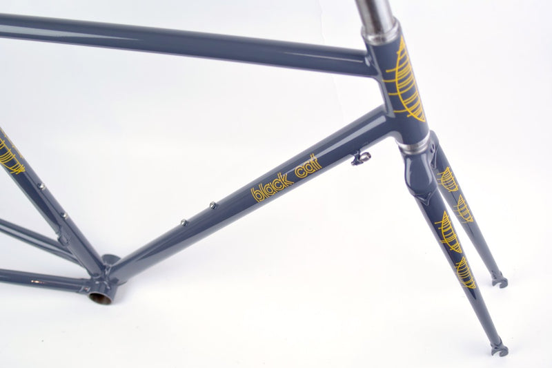 BLACKCAT BICYCLES Smooth Road Frame Set / Half Moon 50