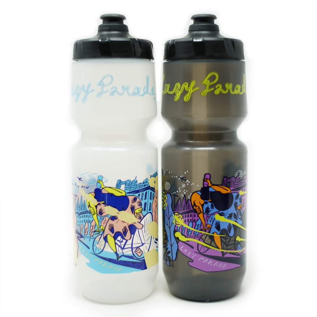SIMWORKS Lazy Parade 2 DAY and NIGHT Water Bottle